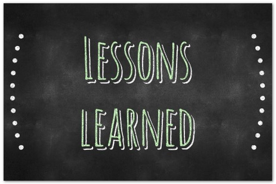 20150605 - Lessons learned WMS