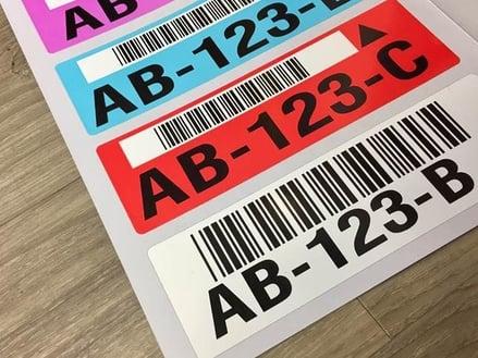 warehouse bin numbering