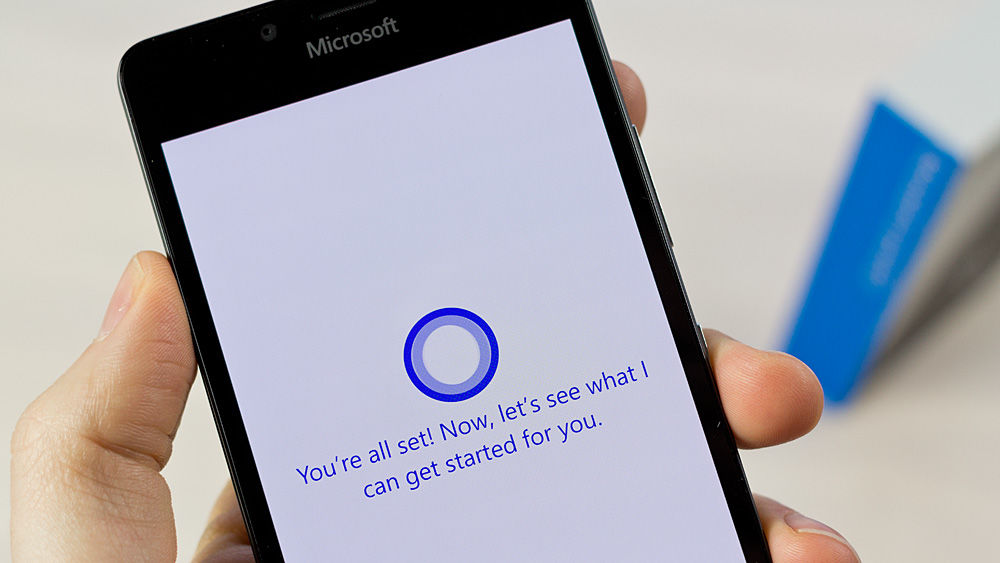 Microsoft Cortana on Windows phone